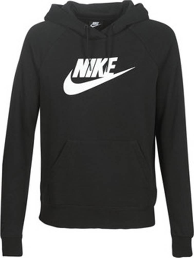 nike Nike Mikiny W NSW ESSNTL HOODIE PO HBR Černá