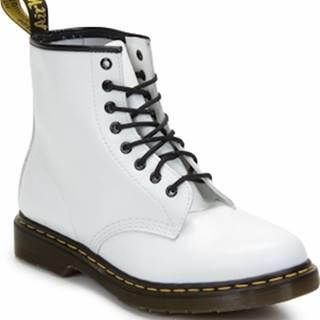Dr Martens Kotníkové boty 1460 Bílá