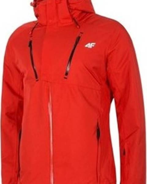 Červená bunda 4F