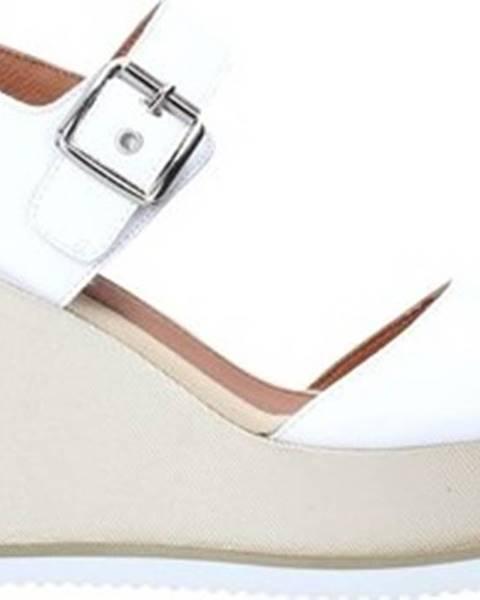 Bílé pantofle LUMBERJACK