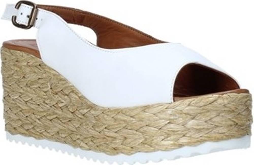 Bueno Shoes Bueno Shoes Sandály N3603 Bílá