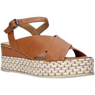 Bueno Shoes Sandály Q5901 Hnědá