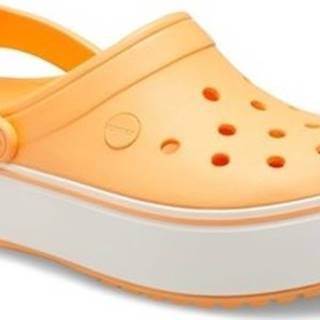 Crocs Pantofle 205434 Oranžová