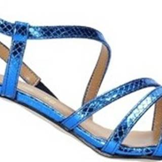 Grace Shoes Sandály 855K029 Modrá