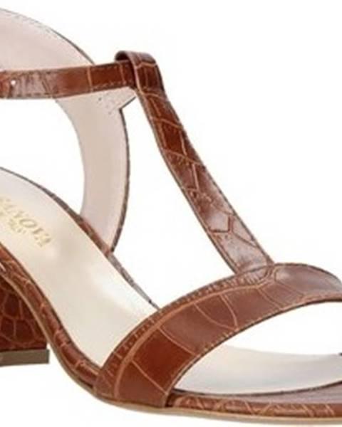 Hnědé sandály Casanova
