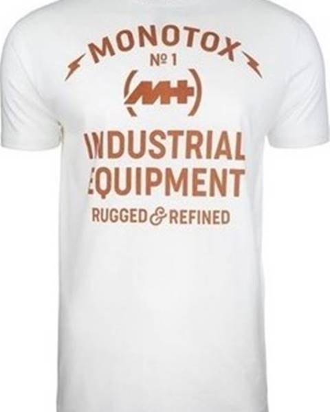 Bílé tričko Monotox