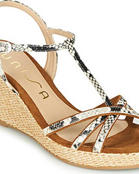 Hnědé sandály Unisa