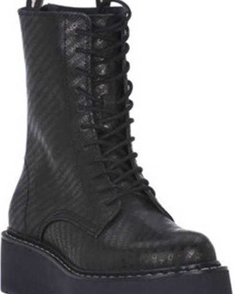 Černé boty Windsor Smith