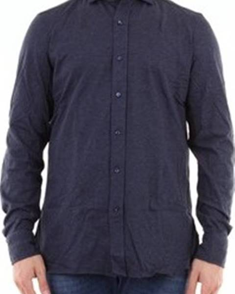 Modrá košile Giampaolo