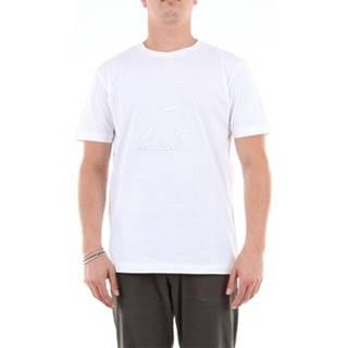 Karl Lagerfeld Trička s krátkým rukávem 755062592242 Bílá