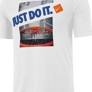 Nike Trička s krátkým rukávem M Dry Tee SC BB Jdi Bílá