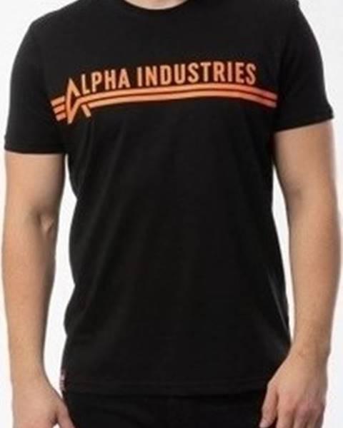 Černé tričko Alpha