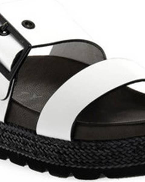 Bílé sandály Vienty
