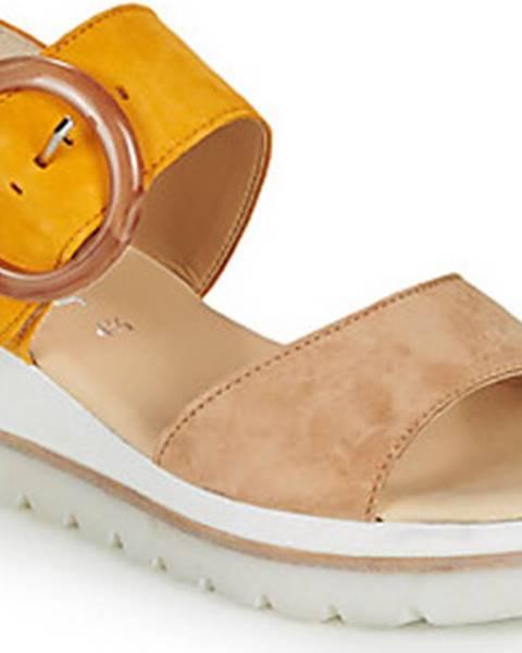 Béžové sandály Gabor