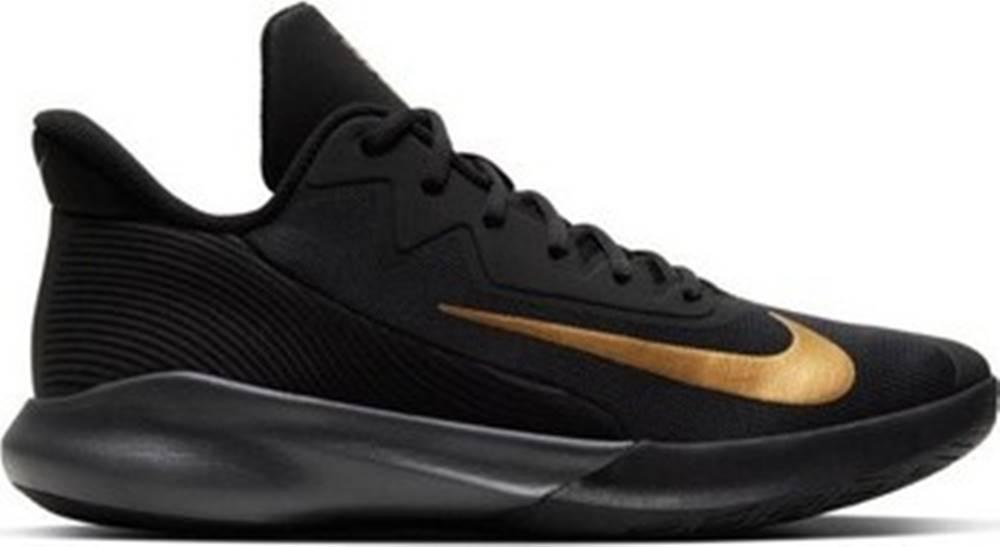 nike Nike Běžecké / Krosové boty Air Precision IV Černá