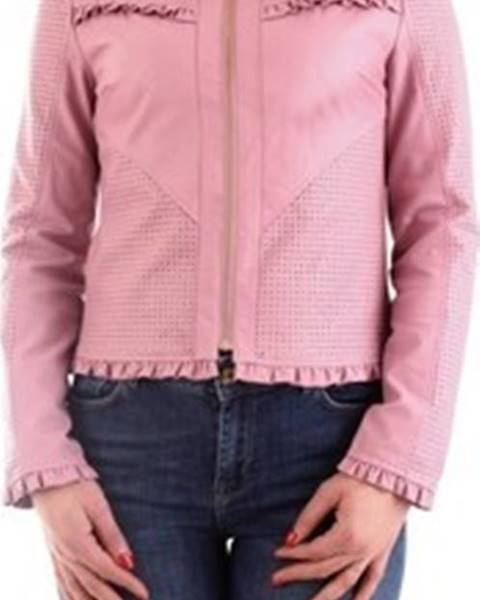 Růžová bunda Fracomina