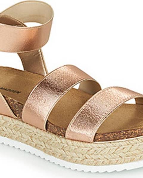 Růžové sandály steve madden