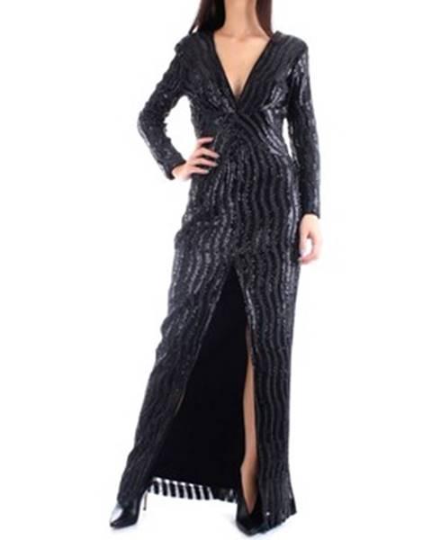 Černé šaty John Richmond
