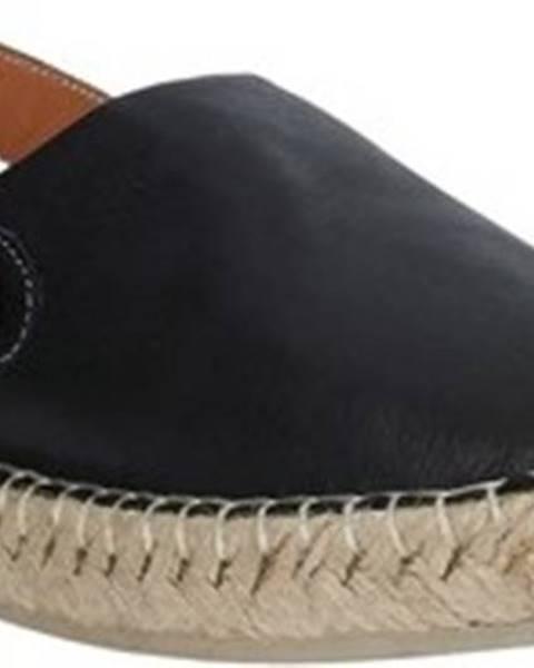 Černé espadrilky Bueno Shoes