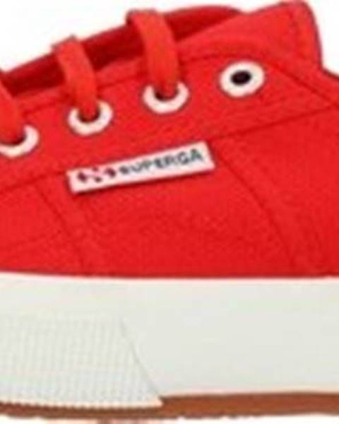 Červené tenisky Superga