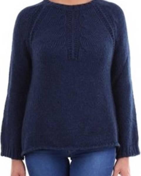 Modrý svetr Crochè
