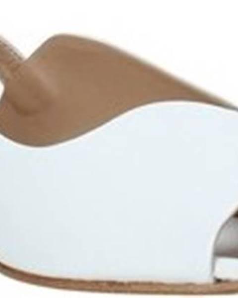 Bílé sandály Mally