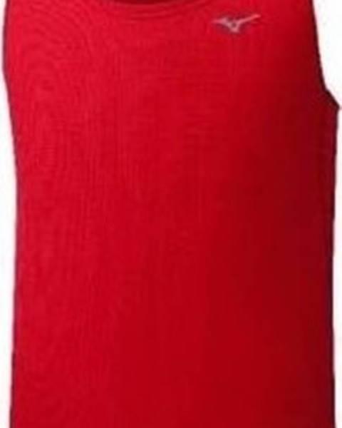 Červené tričko Mizuno