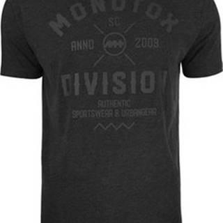 Monotox Trička s krátkým rukávem Division Černá
