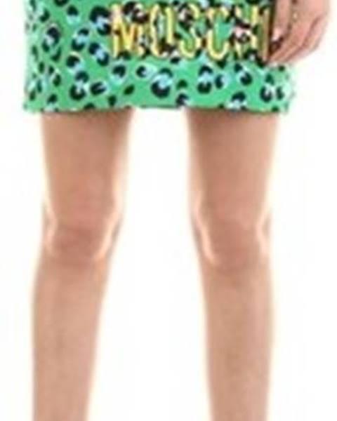 Zelená sukně Love Moschino
