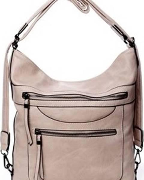Růžový batoh Romina Co. Bags