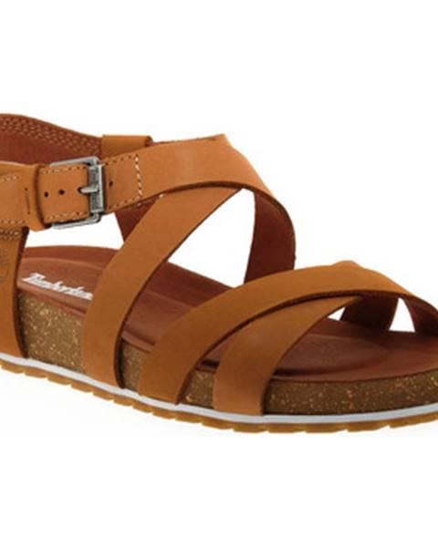 Béžové sandály Timberland