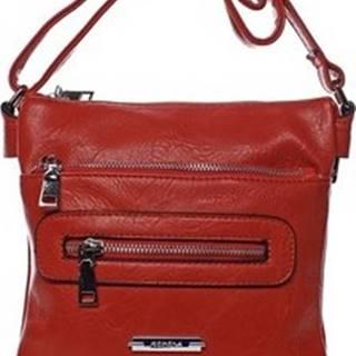 Romina Co. Bags Kabelky s dlouhým popruhem Dámská crossbody kabelka červená - Romina Chasing Červená