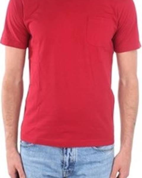 Červené tričko Aspesi