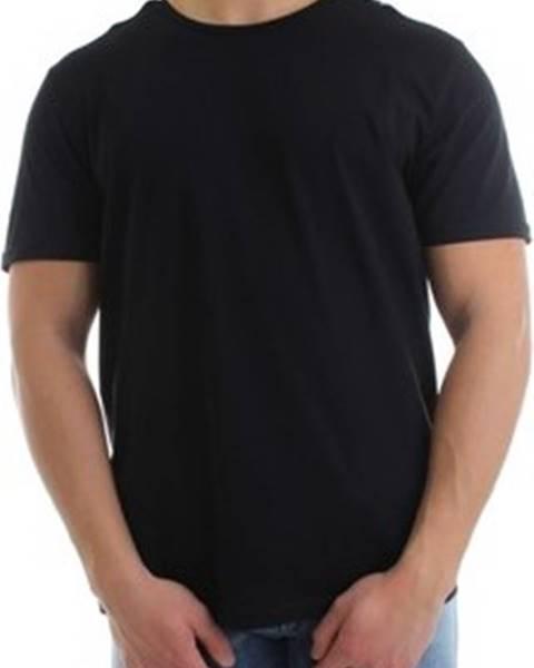 Černé tričko Moschino