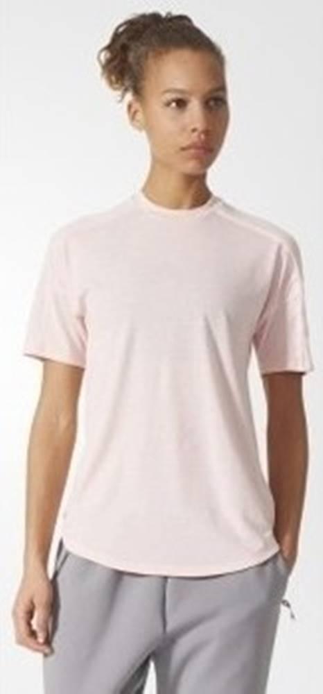 adidas adidas Trička s krátkým rukávem ZNE TEE 2 WOOL Růžová