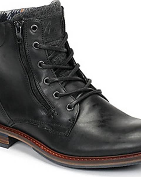 Černé boty Bullboxer