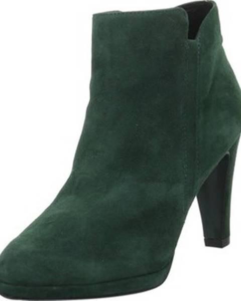 Zelené kozačky Caprice