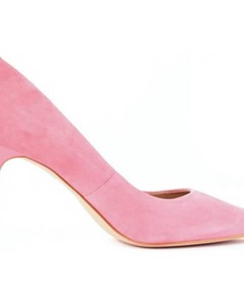 Růžové boty Guess
