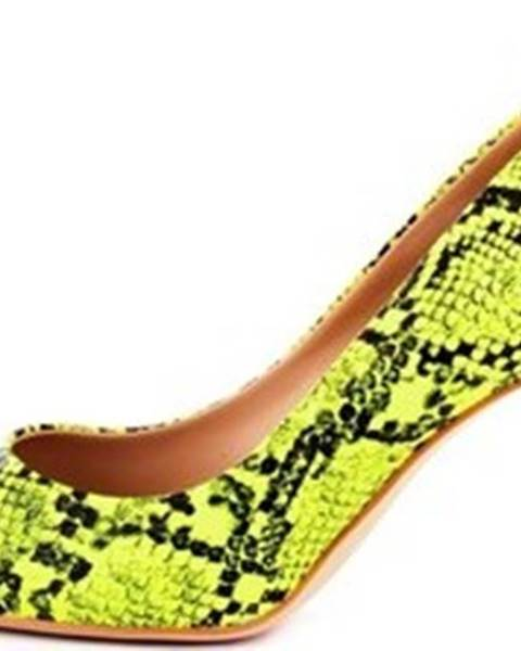 Žluté boty Guess