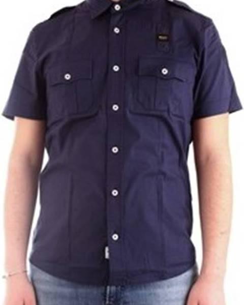 Modrá košile Blauer
