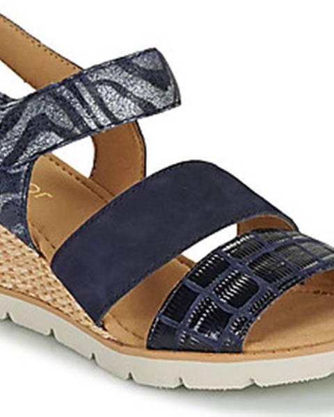 Modré sandály Gabor