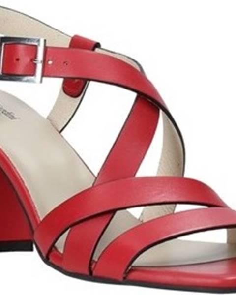 Červené sandály Nero Giardini