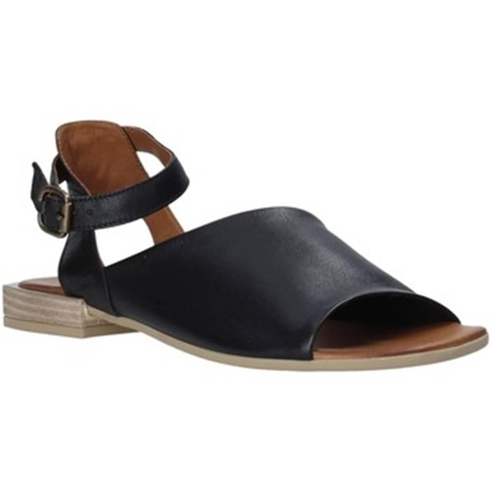 Bueno Shoes Bueno Shoes Sandály Q5602 Černá