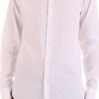 Selected Košile s dlouhymi rukáv 16067893 Bílá