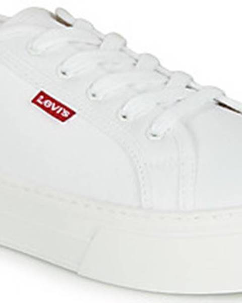 Bílé tenisky Levis