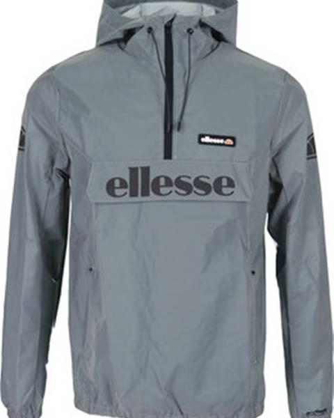 Stříbrná bunda Ellesse