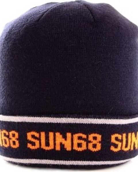 Modrá čepice SUN68