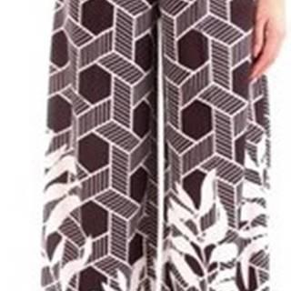 Fracomina Ležérní kalhoty FR20SP014 Černá