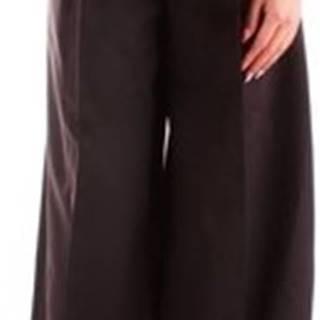 Fracomina Ležérní kalhoty FR20SP655 Černá