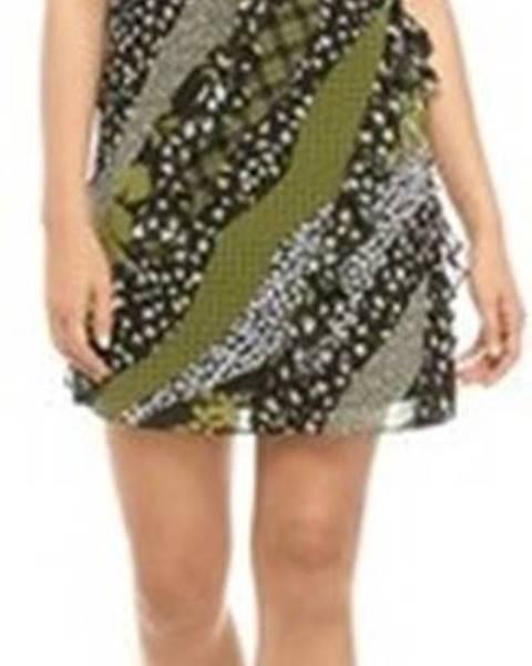 Zelené šaty MICHAEL Michael Kors